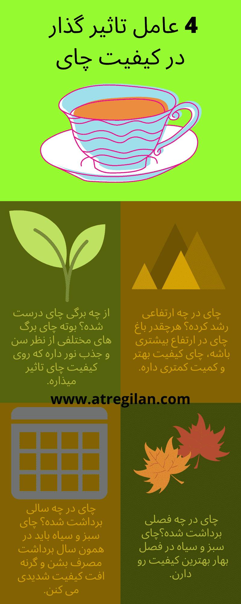 درجه بندی چای ایرانی